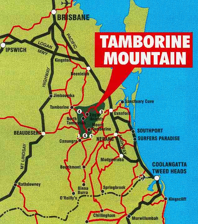 Gold coast mt tamborine map how to get to mt tamborine scottish bed gold coast mt tamborine map how to get to mt tamborine scottish bed breakfast on the gold coast queensland australia gumiabroncs Images